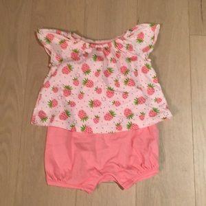 Baby Gap Strawberry Romper